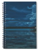 Evening In The Lagoon Spiral Notebook