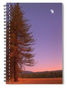 Evening In The Valley Spiral Notebook