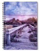 Evening Invitation Spiral Notebook