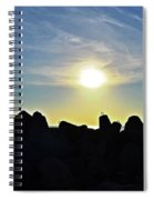 Evening Is Coming Spiral Notebook