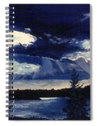 Evening Lake Spiral Notebook