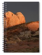 Evening Light Spiral Notebook