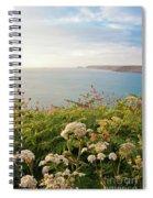 Evening Light In Cornwall Spiral Notebook
