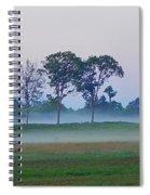 Evening Mist Spiral Notebook