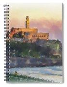 Evening Mood In Jaffa Spiral Notebook
