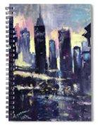 Evening Spiral Notebook