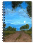 Evening On The Moor Spiral Notebook