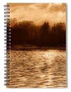 Evening On The New York Shore Spiral Notebook