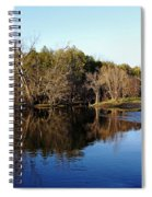 Evening On The Speed River Spiral Notebook
