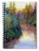 Evening On The Willamette Spiral Notebook