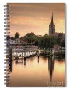 Evening Over Marlow Spiral Notebook