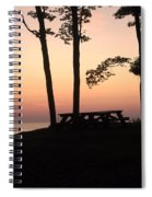 Evening Picnic Spiral Notebook