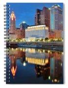 Evening Reflections Spiral Notebook