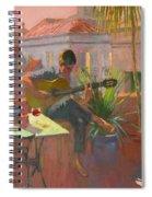 Evening Rooftop Spiral Notebook