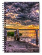 Evening Skies Spiral Notebook