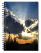 Evening Sky Spiral Notebook