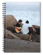 Evening Song Spiral Notebook