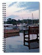 Evening Spring Tide In Mylor Bridge Spiral Notebook