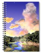 Evening Star Spiral Notebook