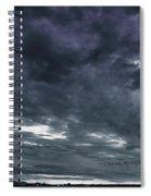 Evening Storm Spiral Notebook