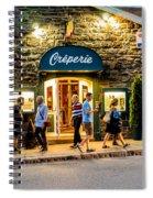 Evening Stroll Spiral Notebook