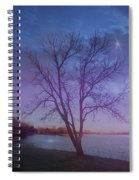 Evening Twinkles Spiral Notebook