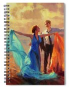 Evening Waltz Spiral Notebook