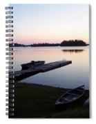 Evening Water Bliss Spiral Notebook