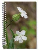 Evening Wildflower Spiral Notebook