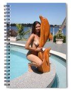 Everglades City Fl. Professional Photographer 350 Spiral Notebook