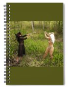 Everglades City Glamour 152 Spiral Notebook