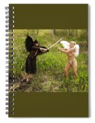 Everglades City Glamour 153 Spiral Notebook