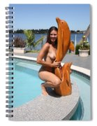 Everglades City Professional Photographer 351 Spiral Notebook