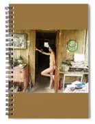 Everglades City Professional Photographer 703 Spiral Notebook
