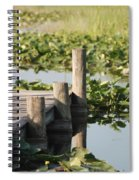 Everglades Pier Spiral Notebook