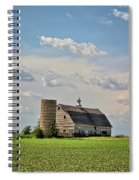 Evergreen Barn 2017 2 Spiral Notebook