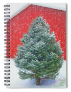 Evergreen In Winter #1 Spiral Notebook