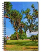Evergreen Plantation Spiral Notebook