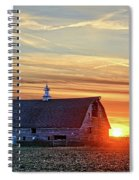 Evergreen Sunset Spiral Notebook