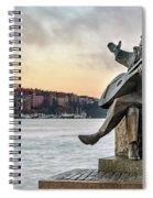 Evert Taube - Stockholm Spiral Notebook