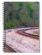 Every Line Has A Curve Spiral Notebook