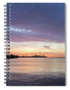 Every Morning Is Different - Toronto Skyline With An Awesome Cloudbank Spiral Notebook