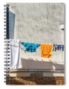Everyday Life In Venice Spiral Notebook