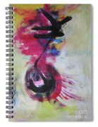 Everything A Mistake-abstract Red Painting Spiral Notebook
