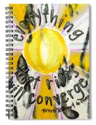Everything That Rises Spiral Notebook
