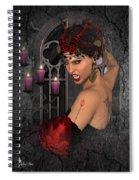 Evil Beauty Spiral Notebook