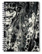 Evil In Black And White Spiral Notebook
