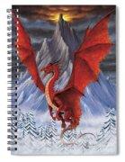 Evil Red Dragon Spiral Notebook