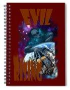 Evil Rising Spiral Notebook