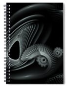 Evincing Insatiability Spiral Notebook